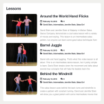 Over 100 salsa lessons to help you learn salsa.